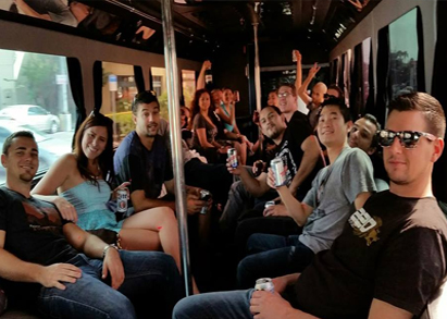 Party Bus to the Horse Races